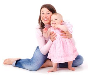 Mutter und Kind vereint